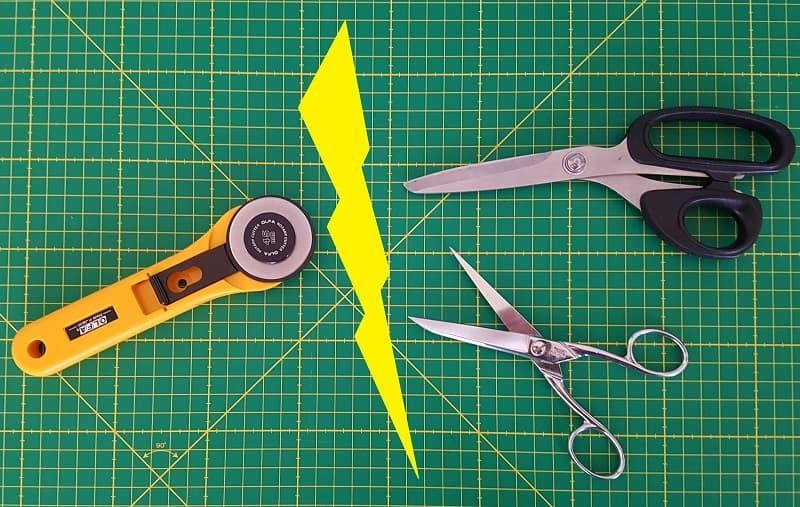 Ciseaux ou cutter rotatif ?