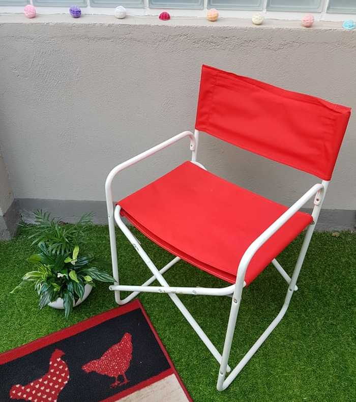 chaise après relooking terrasse