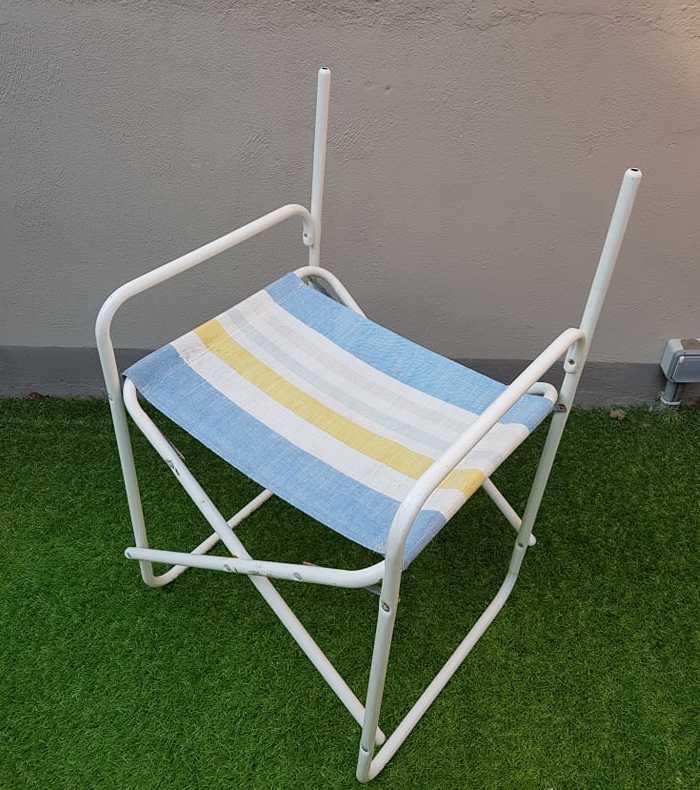 chaise avant relooking terrasse